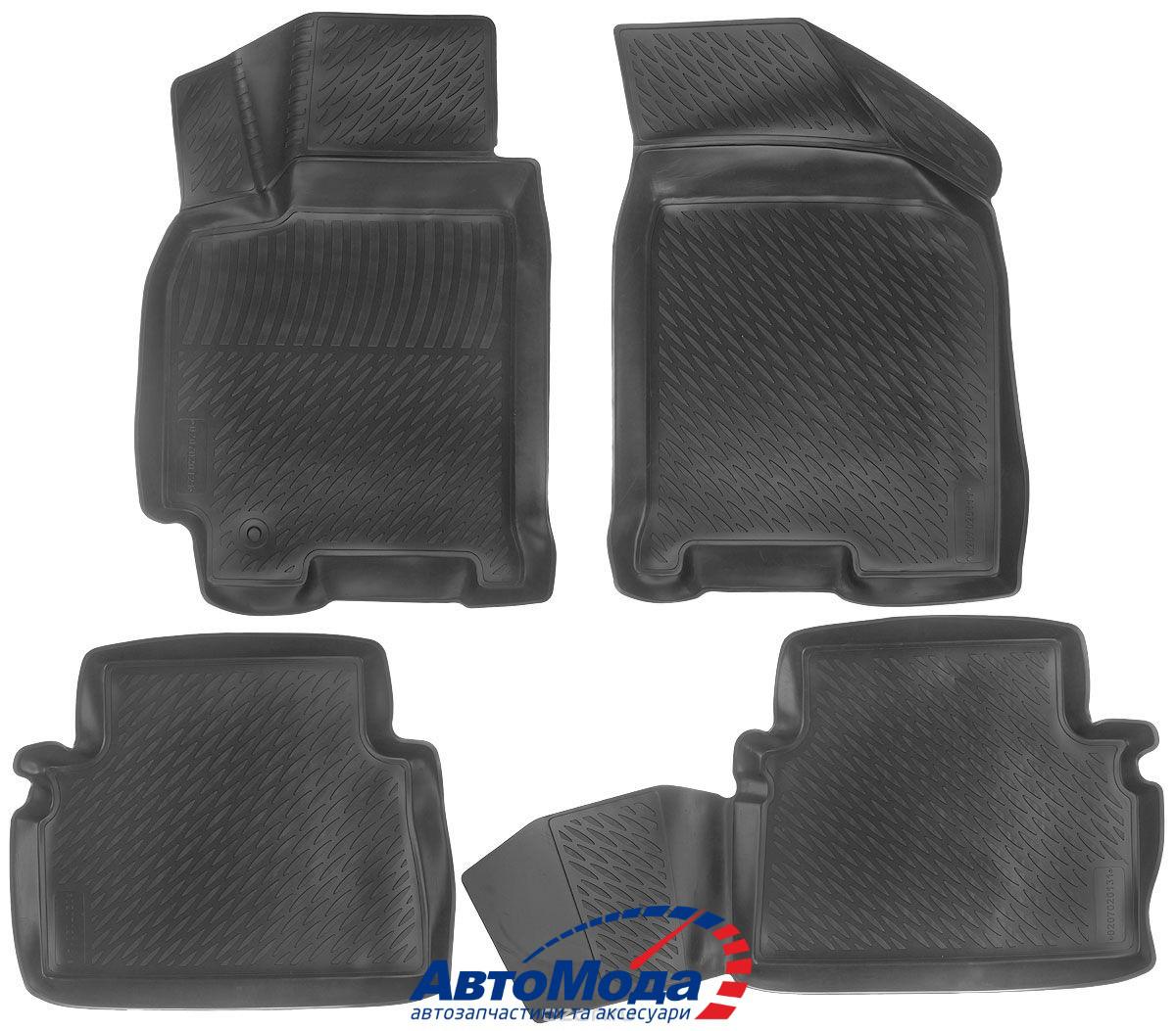Килимки в салон для Chevrolet Lacetti (04-) поліуретанові 207020101