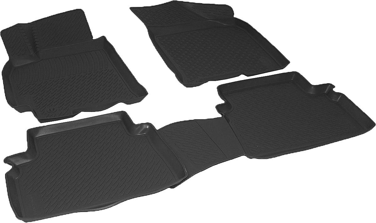 Коврики в салон для Chevrolet Lacetti (04-) серые полиуретановые 207020201