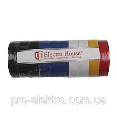 EH-AHT-1818 Ассорти изолента 17м. 0,15мм х 18мм