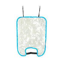 Защитная накидка на спинку сиденья в авто (голубой)