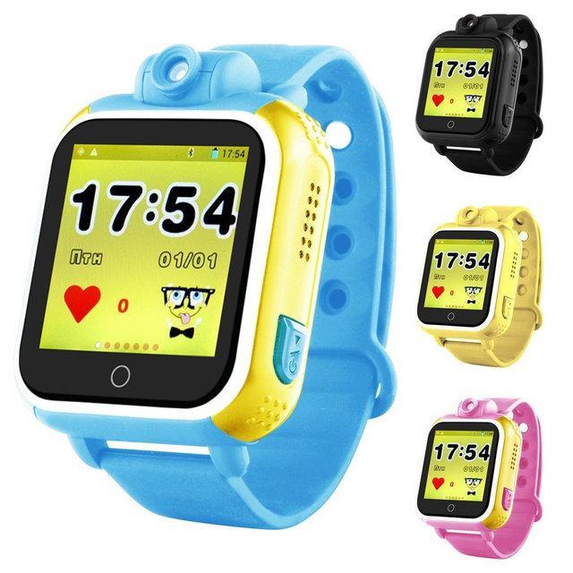 Часы Smart Watch Q200 Kids Gsm/Gps, датчик снятия, SOS, трекинг, камер