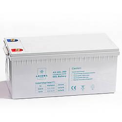 Гелевий акумулятор Axioma Energy AX-GEL-200 (200Ач 12В)