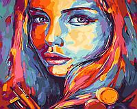 Картина-раскраска Яркий силуэт (BK-GX23635) 40 х 50 см  [Без коробки]
