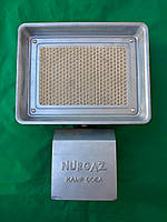 Инфракрасный обогреватель на 1500 (Вт), газовая горелка. Портативный обогреватель. (Насадка на баллон).