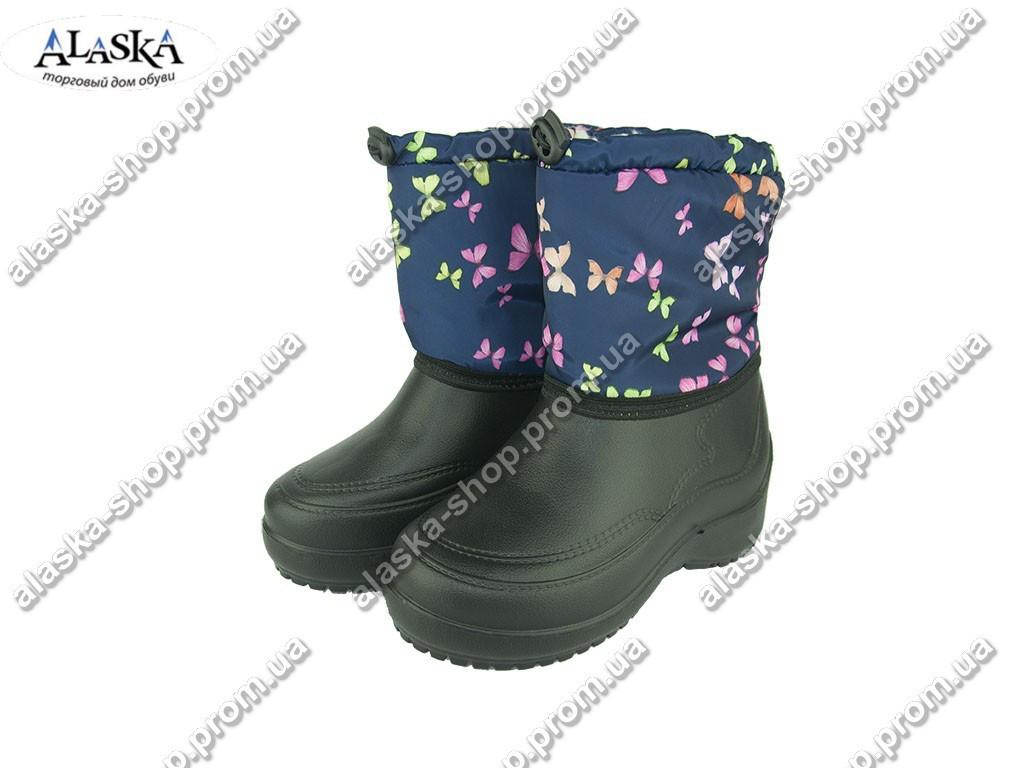Женские дутики (Код:Жен ботинок бабочка )