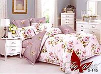 Семейный комплект постельного белья с компаньоном S-145