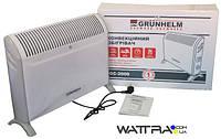⭐ Конвектор 2,0 кВт, GC-2000 GRUNHELM электрический, напольный, 3 уровня мощности, ножки