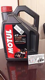 Мотомасло  MOTUL  10w-50  MOTUL 7100 4T SAE 10w-50 (4 л) 838141 (104098)