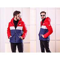 Куртка мужская стильная теплая  Мартен 1103