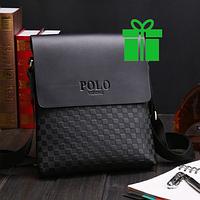 Кожаная мужская сумка Polo Videng Cell