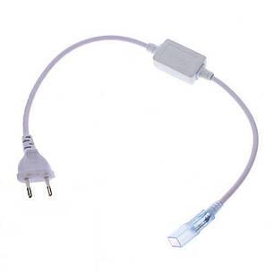 Кабель питания для светодиодных лент Neon Flex 220 В, фото 2
