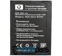 Оригинальный аккумулятор АКБ (Батарея) BQ BQS-5022 (Li-ion 3.8V 2300mAh)