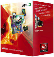 Процессор FM1 AMD A4-3300 2x2,5Ghz 1Mb Cache (AD3300OJGXBOX) новый