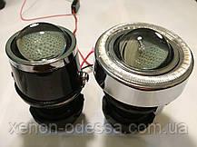 "Моно линзы ПТФ 1,8""  под ксенон или галоген + Ангельские Глазки LED, фото 3"