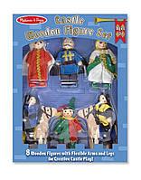 Деревянные фигурки для рыцарского замка