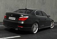 Накладка на задний бампер для BMW E60/E61