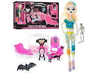 Кукла 66536 Monster High , шарнирная с мебелью