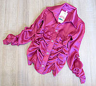 Детская блузка р.128,140