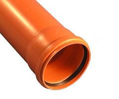 Труба ПВХ наружной канализации Ostendorf 110х2000х3,2 мм