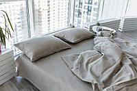 Комплект постельного белья, евро, лен 200*220, фото 1