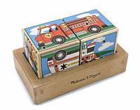 Звуковые кубики Машинки Melissa&Doug (MD1272)