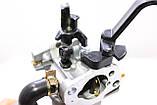 Карбюратор газ бензин с редуктором 2.0 - 2,5 - 3 кВт, фото 2