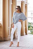 """Жіночі джинси великих розмірів """"White"""" SK House, фото 1"""