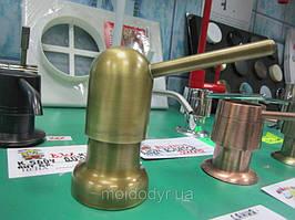 Дозатор моющего средства Damixa (латунь, бронза)
