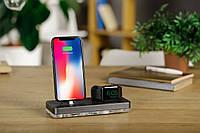 Док-станция ATIKgroups Gray 2|Зарядка для Айфон iPad Наушники AirPods Apple Watch Лучший Подарок Гаджет