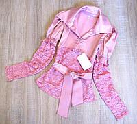 Детская блузка р.128-146, фото 1