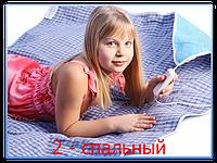 Согревающая простынь электрическая двухспальная тм Трио 1,5 * 1,2 м