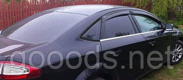 Молдинги стекол Ford Mondeo 08-13