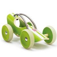 """Деревянная игрушка машинка из бамбука Hape """"E-Racer Suzuca"""", фото 2"""