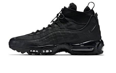 Мужские кроссовки Nike Air Max 95 Sneakerboot All Black, фото 2