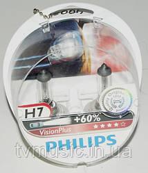Лампа галогенная Philips VisionPlus H7 (12972VPS2)