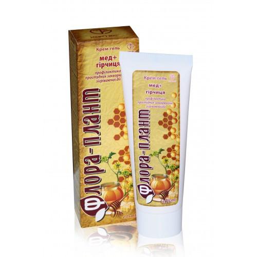 Мёд+горчица, Флора-Плант, крем-гель, 75 мл