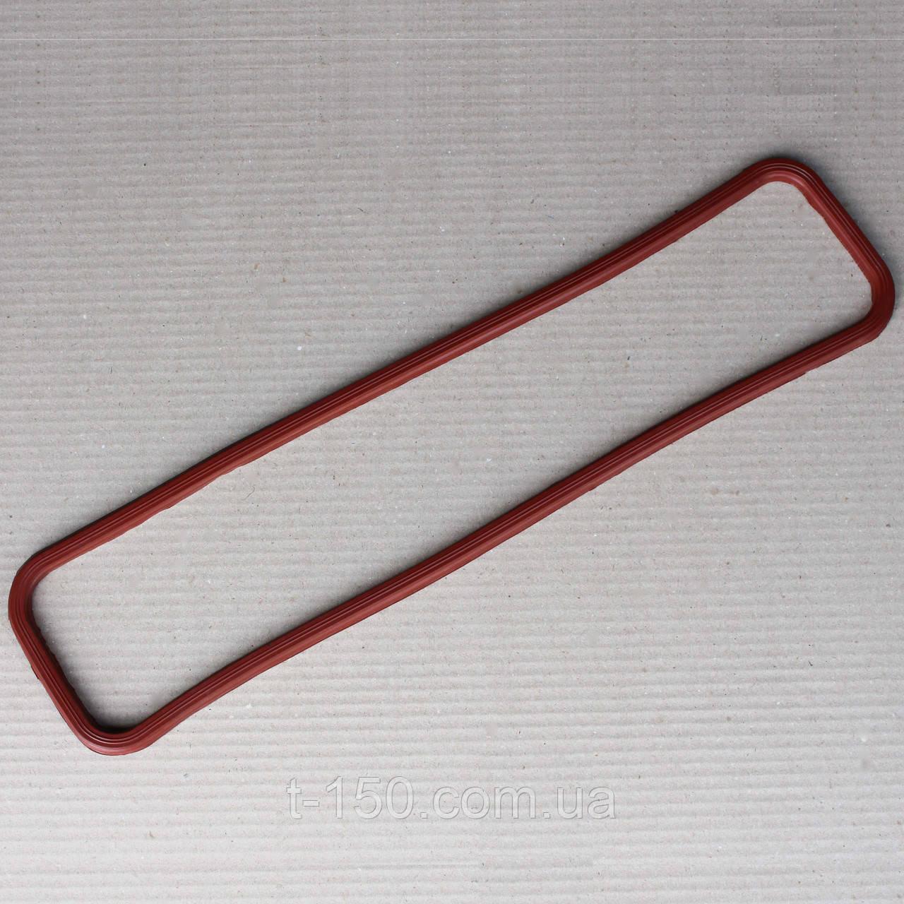 Прокладка клапанной крышки ГАЗ-53 красная резина