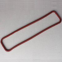 Прокладка клапанной крышки ГАЗ-53 красная резина, фото 1