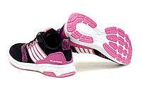 Подростковые спортивные кроссовки на девочку на шнурках р.34,37 37