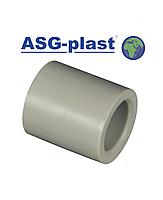 Муфта ппр соединительная 63 ASG-Plast (Чехия), фото 1