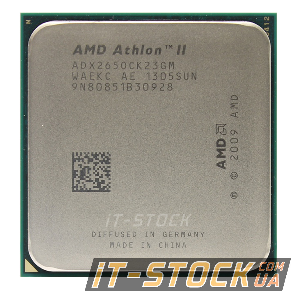 Процессор AMD Athlon II X2 265 (2×3.30GHz/2Mb/AM3) б/у