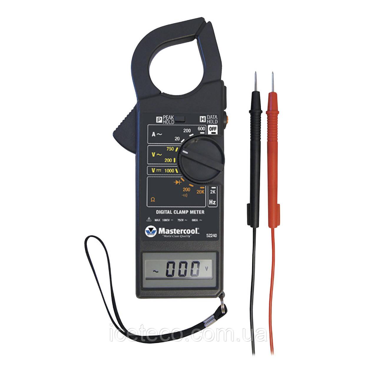 Мультиметр - Профессиональные токоизмерительные клещи для систем HBKB/P MC 52240 Mastercool