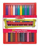 Мелки полимерные (24 цвета)