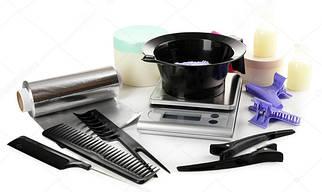 Инструменты и аксессуары для стрижки и покраски волос
