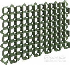Решетка газонная 60х40х3,8 пластиковая зеленая, фото 2