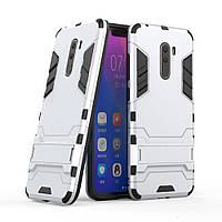 PC + TPU чехол Metal Armor для Xiaomi Pocophone F1 (7 цветов)