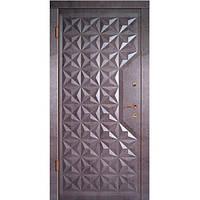 Входная дверь модели Граф 4/Граф 2 серии Элит (2050х860 мм)