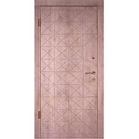 Входная дверь модели Граф 4/Граф 2 серии Элит (2050х960 мм)