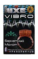 Презерватив с виброкольцом Luxe Vibro Бархатный молот