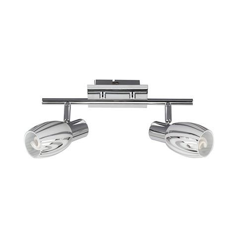 Настенно-потолочный светильник на 2 плафона